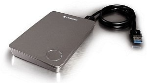 Verbatim Store 'n' Go Executive II grey 500GB, USB 3.0 (53054)