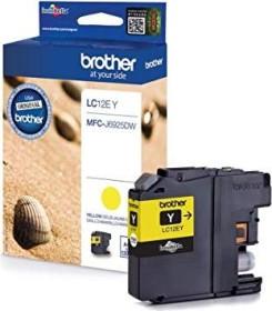 Brother Tinte LC12EY gelb hohe Kapazität
