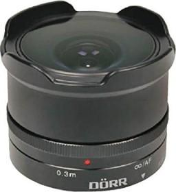 Dörr 12mm 7.4 fisheye for Fujifilm X black (361114)