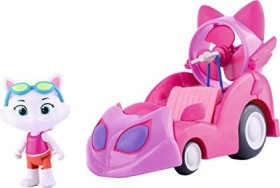 Smoby 44 Cats Milady mit Auto (180211)