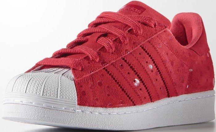 adidas Originals Superstar Damen Sneakers Rot Tomato F15ST