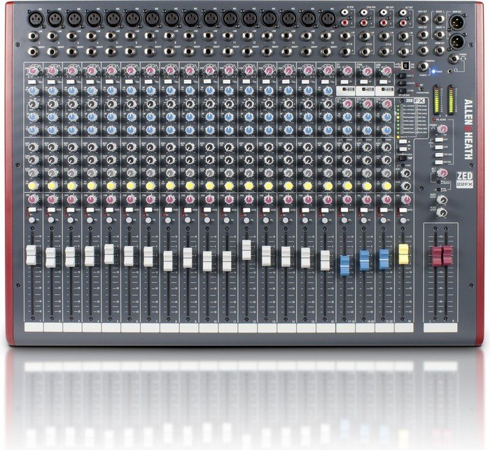 Allen&Heath ZED-22FX analog mixer, USB