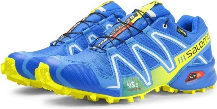 dd97dd80c83 Salomon Speedcross 3 GTX bright blue/process blue/gecko green (men) (379087)