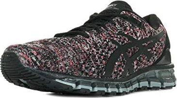 hot sale online ead2a 99328 Asics gel-Quantum 360 Knit 2 black/classic red/stone grey (men)  (T840N-9023) from £ 77.26