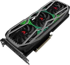 PNY GeForce RTX 3090 XLR8 Gaming Revel Epic-X RGB Triple Fan Edition, 24GB GDDR6X, HDMI, 3x DP (VCG309024TFXPPB)