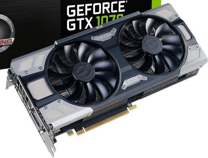 EVGA GeForce GTX 1070 FTW2 Gaming iCX, 8GB GDDR5, DVI, HDMI, 3x DP  (08G-P4-6676-KR) from £ 580 63