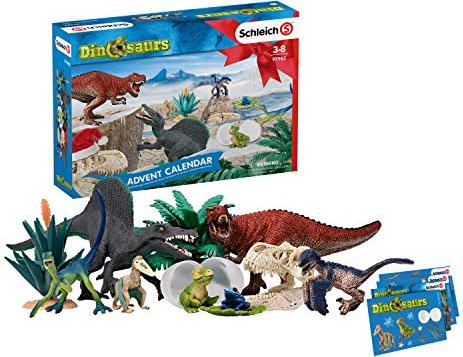 Schleich Adventskalender Dinosaurs 2019 (97982) -- via Amazon Partnerprogramm