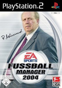 EA Sports Fußball Manager 2004 (German) (PS2)