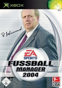 EA Sports Fußball Manager 2004 (niemiecki) (Xbox)