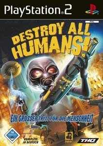 Destroy all Humans! (deutsch) (PS2)