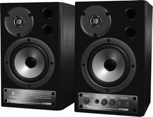 Behringer digital monitor Speakers MS20 -- © Copyright 200x, Behringer International GmbH