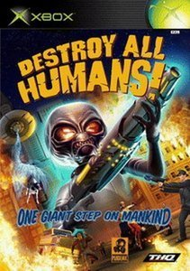 Destroy all Humans! (deutsch) (Xbox)