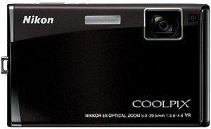 Nikon Coolpix S60 schwarz (VMA310E1)