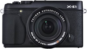 Fujifilm X-E1 schwarz mit Objektiv XF 18-55mm 2.8-4.0 LM OIS (4004725)