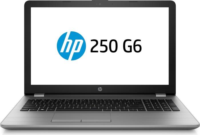 HP 250 G6, Core i3-7020U, 8GB RAM, 256GB SSD, Asteroid Silver (4QW29ES#ABD)