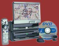 Pioneer AVIC70D-II DVD Navigation Package