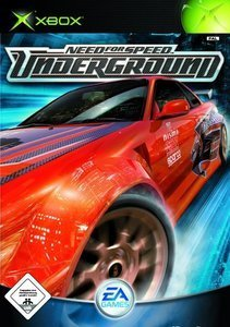 Need for Speed: Underground (niemiecki) (Xbox)