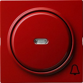 Gira Abdeckung mit Symbol und Wippe, rot (0286 43)