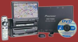 Pioneer AVIC80DH-II DVD Navigation / AV Package