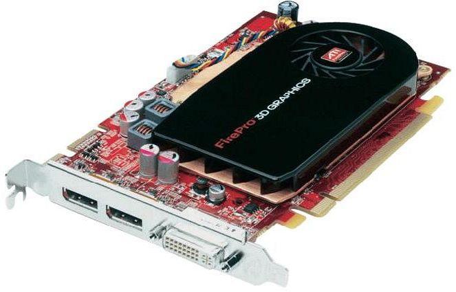 ATI FirePro V3750, 256MB DDR3, DVI, 2x DisplayPort (100-505552)