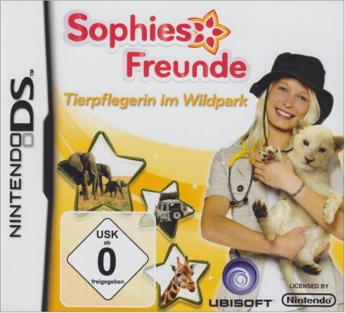 Sophies Freunde: Tierpflegerin im Wildpark (deutsch) (DS) -- via Amazon Partnerprogramm