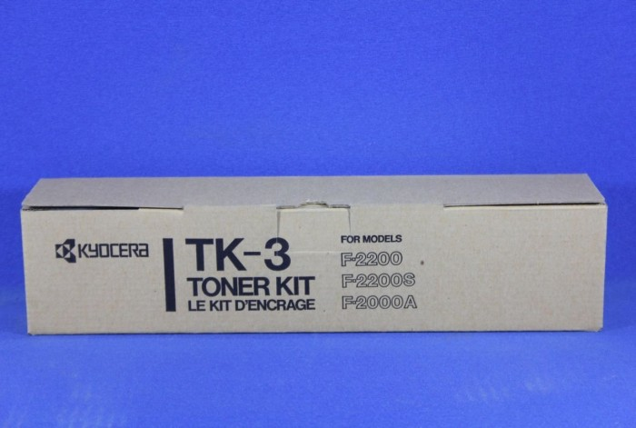 Kyocera TK-3 Toner schwarz (370PH010) -- via Amazon Partnerprogramm