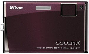 Nikon Coolpix S60 red (VMA312E1)