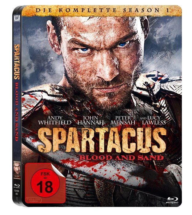 Spartacus - Blood and Sand Season  1 (Blu-ray)