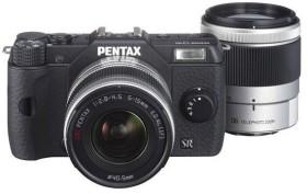 Pentax Q10 schwarz mit Objektiv 5-15mm 2.8-4.5 und 15-45mm 2.8 (12137)
