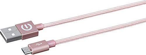 eSTUFF Micro-USB-Kabel rosegold 1.00m (ES80112-ROSE) -- via Amazon Partnerprogramm