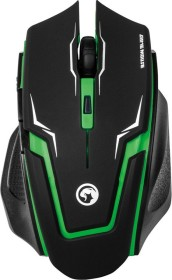 Marvo Scorpion Sting M319/M919 Gaming Mouse black/green, USB (M319GN/M919GN)