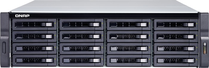 QNAP Turbo Station TS-1673U-RP-16G 96TB, 4x Gb LAN, 2x 10Gb SFP+, 3HE