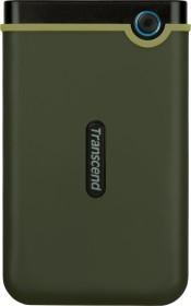Transcend StoreJet 25M3 Slim Military Green 2TB, USB 3.0 Micro-B (TS2TSJ25M3G)