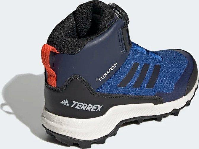 adidas Kid's Terrex Winter Mid Boa Winterschuhe Active Maroon Core Black Semi Coral | 1 (UK)