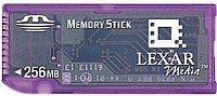 Lexar Memory Stick (MS) 256MB (MS256)