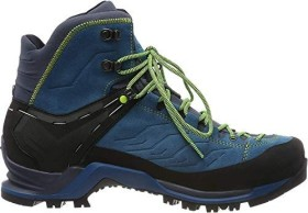 Salewa Mountain Trainer Mid GTX poseidon/fluo yellow (Herren) (63458-8968)