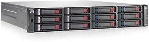 HP StorageWorks P2000 G3 MSA FC LFF, 4x Fibre Channel 8Gb/s, 2U (AP845A)