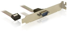 DeLOCK PCI slot bracket 1x serial 40cm (82768)