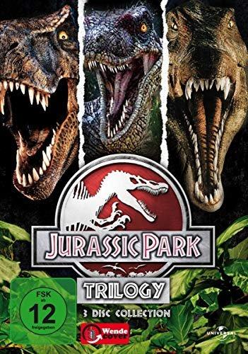 Jurassic Park Box (Filme 1-3) -- via Amazon Partnerprogramm