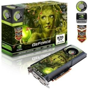 Point of View GeForce GTX 570 TGT Ultra Charged Single Fan, 1.25GB GDDR5, 2x DVI, mini HDMI (TGT-570-A1-UC)