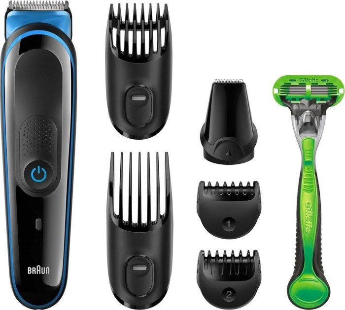 Braun MGK 3040 MultiGroomer hair-/beard trimmer