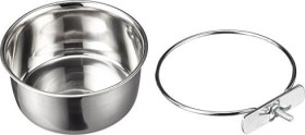 Kerbl stainless steal bowl 600ml (83971)