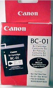 Canon Printhead with ink BC-01 black (0879A002)