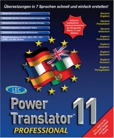 EuroWin AG PowerTranslator Professional 11.0 (multilingual) (PC)
