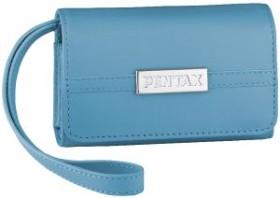 Pentax LC-M1 Ledertasche hellblau (50184)
