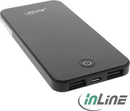 InLine Powerbank 4000mAh schwarz (01471)