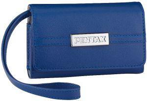 Pentax LC-M1 Ledertasche dunkelblau (50185)