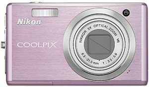Nikon Coolpix S560 pink (VMA282E1)