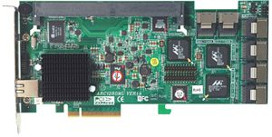 Areca ARC-1280ML, PCIe x8
