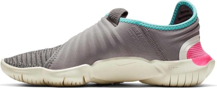 Nike Free RN Flyknit 3.0 Laufschuhe Damen thunder grey volt aurora green im Online Shop von SportScheck kaufen